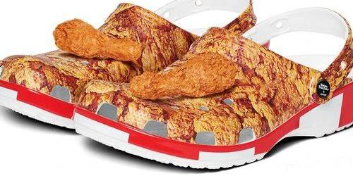 Sandal Kolaborasi KFC-Crocs Beraroma Ayam Langsung Ludes Diburu Penggemar Fashion