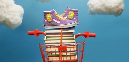 Sepatu Vans berkolaborasi dengan The Simpsons